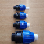 MDPE Pipe Connectors (Male BSP) Straight